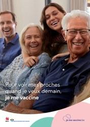 Déplacement vers les centres de vaccination depuis Frasnes