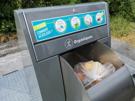 Des points d'apports volontaires pour jeter vos déchets de cuisine