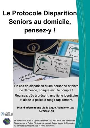 Frasnes adhère au Protocole Disparition Seniors au domicile