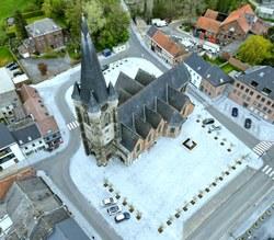 La Grand-Place de Frasnes-lez-Buissenal est enfin terminée !