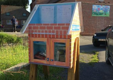 Les Boîtes à livres ont été installées