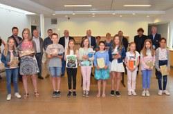 Les lauréats des Olympiades d'orthographe récompensés