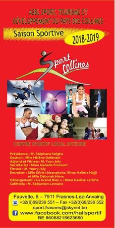 Nouvelle saison sportive pour Sport Collines