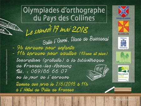 Olympiades d'orthographe du Pays des Collines