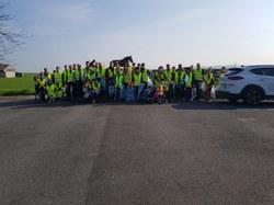 Plus de cinquante sacs ramassés à Cordes et à Forest