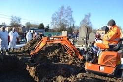 Première wallonne à Frasnes-lez-Anvaing : La mutualisation de fossoyeurs communaux