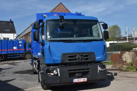 Un nouveau camion immondices pour Frasnes-lez-Anvaing