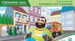 Collecte de porte-à-porte des déchets ménagers : calendrier 2021