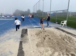 Découverte de l'athlétisme pour les élèves de primaire