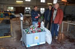 Déjà 500 kg de canettes abandonnées collectés