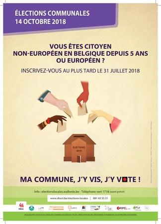 Elections 2018 : citoyens étrangers