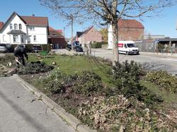Fleurissement des villages frasnois : D'importants aménagements en cours de réalisation