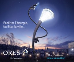 Frasnes-lez-Anvaing passe au LED