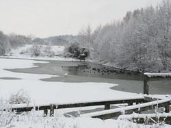 Frasnes-lez-Anvaing sous la neige...