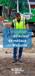 L'utilisation d'un détecteur de métaux en Wallonie