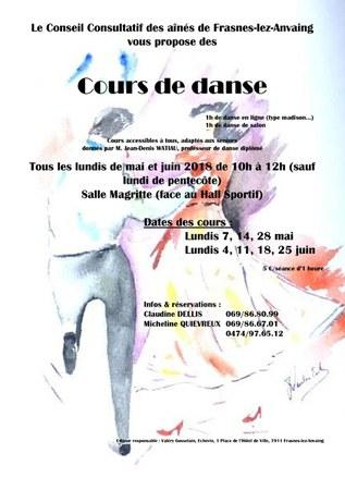Le CCA propose des cours de danse !