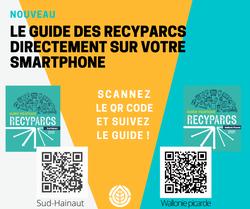 Le guide des recyparcs sur votre smartphone