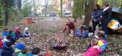 Les maternelles de Dergneau dans les bois !