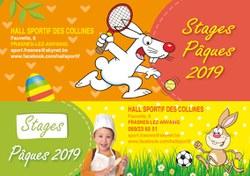 Les stages de Pâques au Hall Sportif