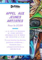 MJ Vaniche : Appel aux artistes