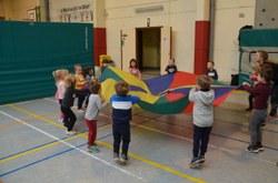 Plus de 300 enfants ont participé aux Olympiades de maternelles