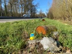 Ramassage des déchets le long de la RN 60 du 1er au 4 mars