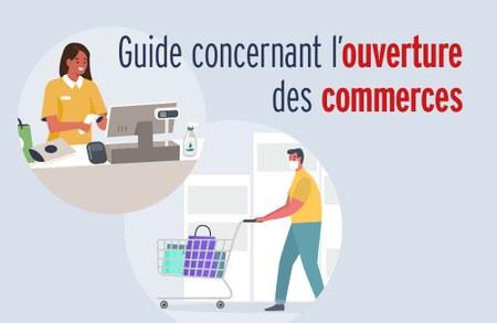 Réouverture des commerces le 11 mai : lignes directrices pour les commerçants