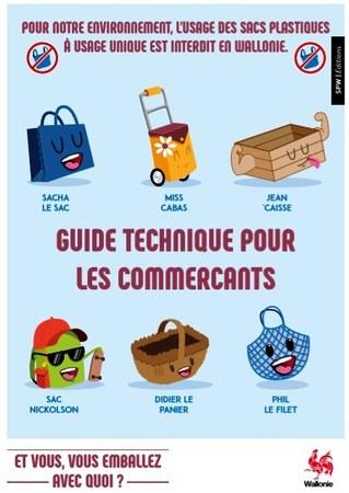 Sacs en plastique interdits : un guide pour les commerçants
