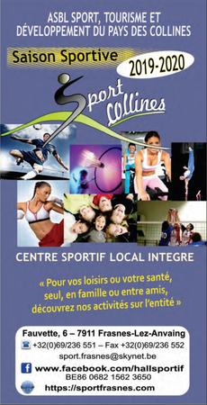 Saison sportive 2019-2020 : Le guide du Hall Sportif