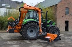 Un nouveau tracteur-débroussailleur pour le service Travaux