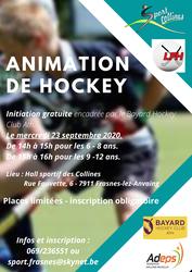 Venez vous initier au hockey !