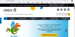 www.ores.be, un site bien utile