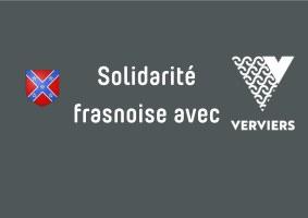 Les bénévoles frasnois à Verviers