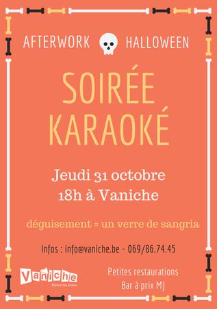 Afterwork Halloween - Karaoké