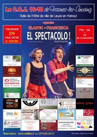 Elastic et Francesca pour le CCJ !