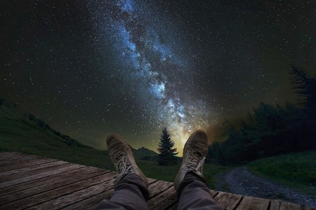 Et si nous passions une nuit à la belle étoile ?