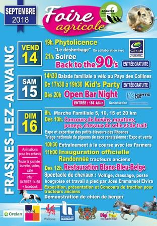 Foire Agricole de Frasnes-lez-Anvaing
