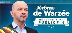 Jérôme de Warzée en spectacle pour le CCJ