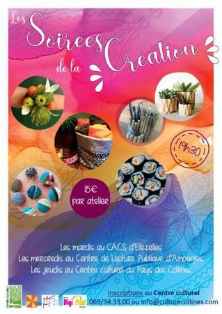 Soirées de la création : Atelier couture