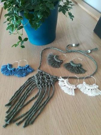 Soirées de la création : Bijoux en macramé