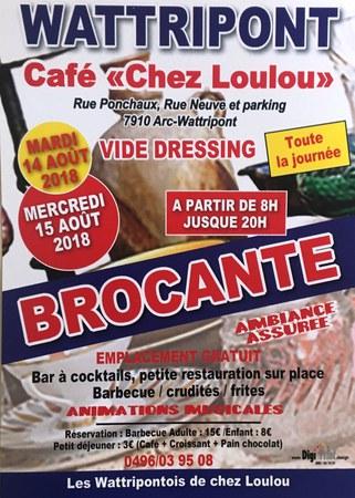 Vide dressing et brocante à Arc-Wattripont
