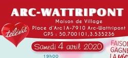Week-end Televie à Arc-Wattripont