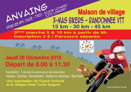 X-MAS Bikers, randonnée VTT