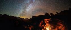 Nuit à la belle étoile dans les Bassins