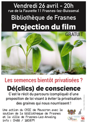 Projection du film : Dé(clics) de conscience