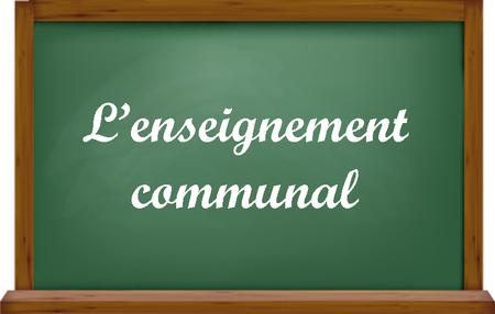 L'enseignement communal