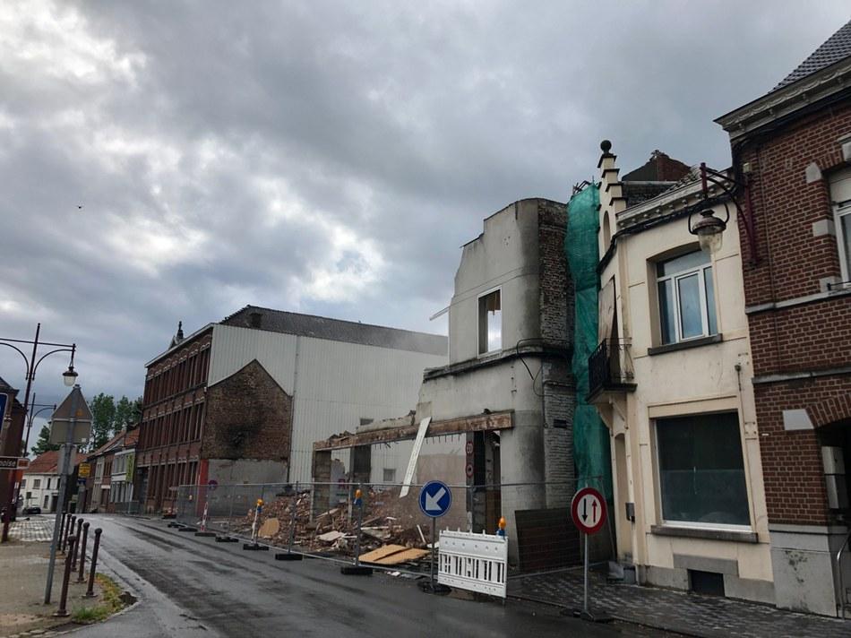 Démolition Grand-Place - Mardi 28 mai 2019 - 10h
